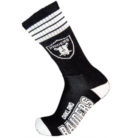 For Bare Feet Oakland Raiders Socks With Stripes