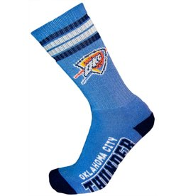 NBA Oklahoma City Thunder Socks With Stripes