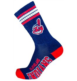 MLB Cleveland Indians Socks With Stripes