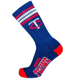 MLB Minnesota Twins Socks With Stripes