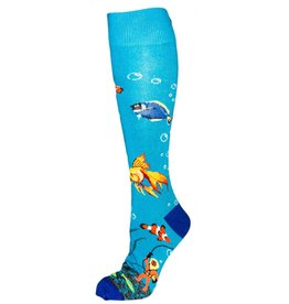 For Bare Feet Womens Aquarium Socks