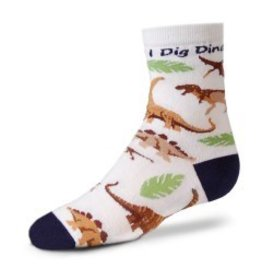 For Bare Feet Childrens I Dig Dinos 3/$24