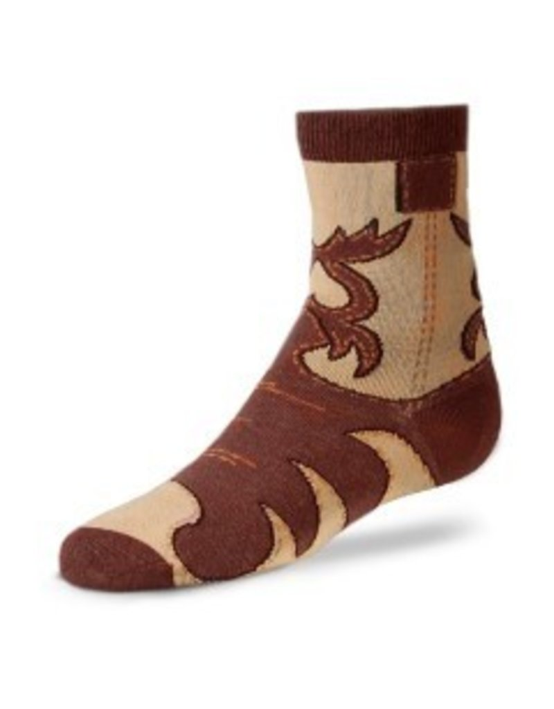 For Bare Feet Childrens Real Western Boot Sock 3/$24 - The Sox Market