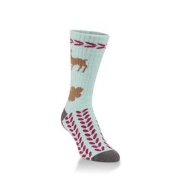 Womens Worlds Softest Reindeer Socks