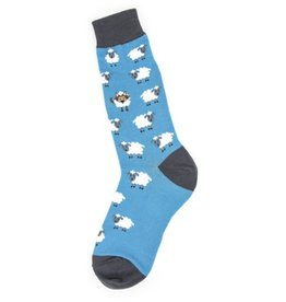 Foot Traffic Mens Wolf In Sheeps Clothing Socks