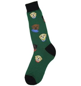 Foot Traffic Mens Labrador Socks