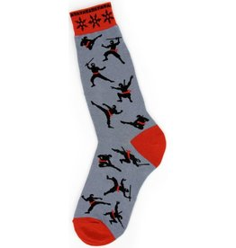 Foot Traffic Mens Ninja Socks