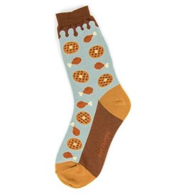 Foot Traffic Mens Chicken & Waffles Socks