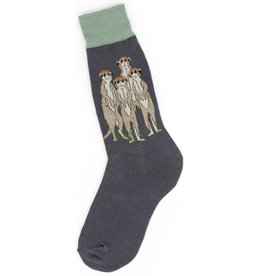 Foot Traffic Mens Meerkat's Socks