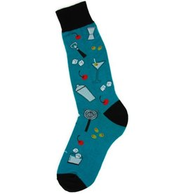 Foot Traffic Mens Bar Tools Socks