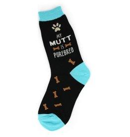 Foot Traffic Womens My Mutt Socks