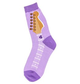 Foot Traffic Womens Guitar Neck Socks