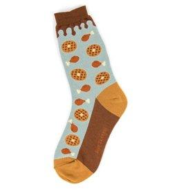 Foot Traffic Womens Chicken & Waffles Socks