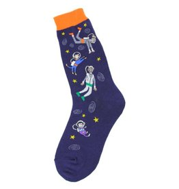Foot Traffic Womens Floating in Space Socks