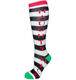 Davco Women's Naughty & Nice Knee High Socks