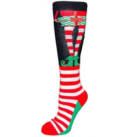 Davco Women's Ugly Elf Knee High Socks