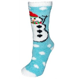 Women's X-Mas Snowman Butter Socks