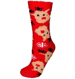 Women's X-Mas Rudolph Butter Socks