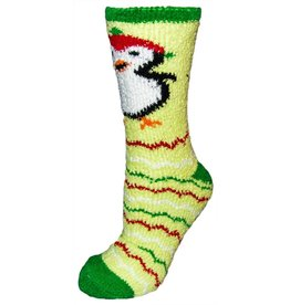 Women's X-Mas Penguin Butter Socks