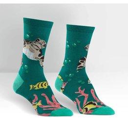 Sock it to Me SITM Women's Crew Sea Turtle Socks