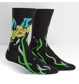 Sock it to Me SITM Men's Creature From the Shoe Socks