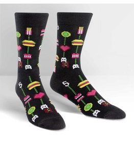 Sock it to Me SITM Men's Gamer Food Socks