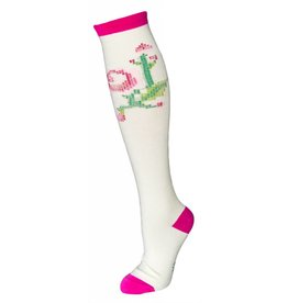 Sock it to Me SITM Women's Stitched Rose Socks
