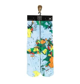 Odd Sox World Map Socks