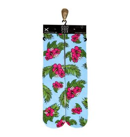 Odd Sox Hibiscus Socks