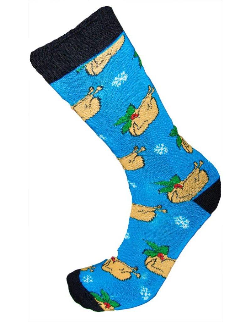 Men's Christmas Turkey Socks - The Sox Market