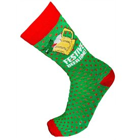 World of Hosiery Mens Festive Beer Time Socks