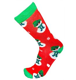 World of Hosiery Mens Snowman Socks