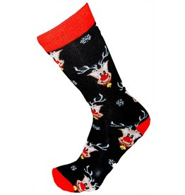 World of Hosiery Mens Rudolph Socks