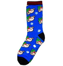 World of Hosiery Mens Heat Machine Christmas Turkey Socks