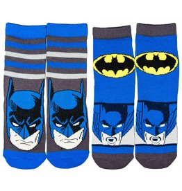 DC Kids Batman Socks 2 Pack Navy