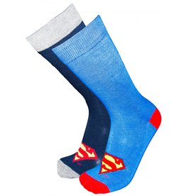 DC Mens Superman Classic Logo Socks