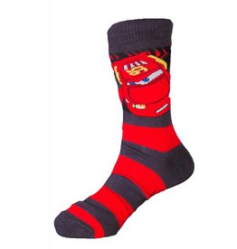 Disney Kids Cars Lightning McQueen Socks Stripes
