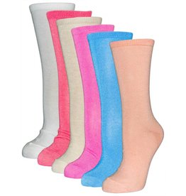 Hatteras Womens Flat Knit Lycra Trouser Socks