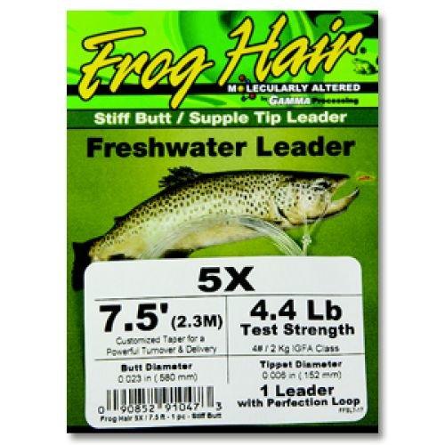 FrogHair Stiff Butt Leader