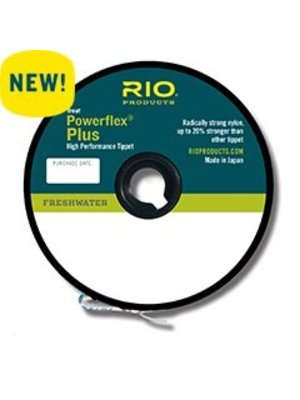 RIO PowerFlex Plus Tippet - 50 Yards