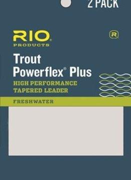 RIO Powerflex Plus Leader 2-Pack 9'
