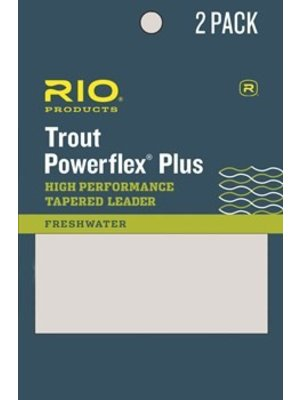 RIO Powerflex Plus Leader 2-Pack 9'