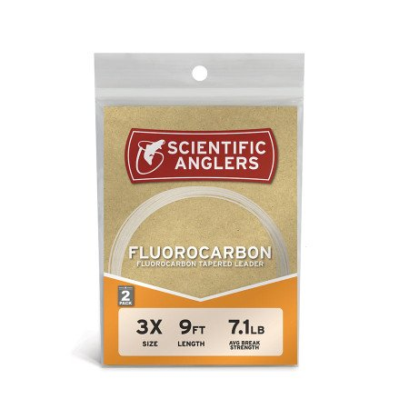 Scientific Anglers Fluorocarbon 9' 2-pack