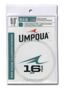 UMPQUA Big Game Fluorocarbon Leader - 9ft