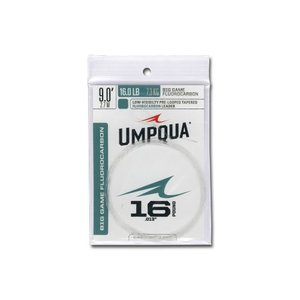 UMPQUA Big Game Fluorocarbon Leader - 9ft
