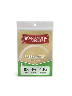 Scientific Anglers Freshwater Leaders -7.5' - 2-pack