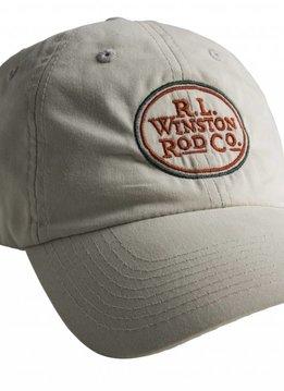 R.L. Winston Logo Cap-Khaki Tan