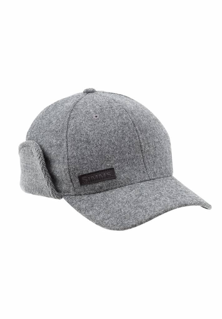 Simms Wool Scotch Cap - Charcoal