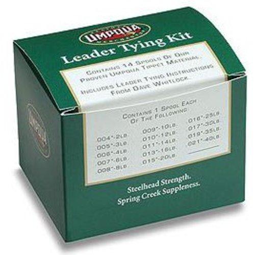 UMPQUA Leader Tying Kit