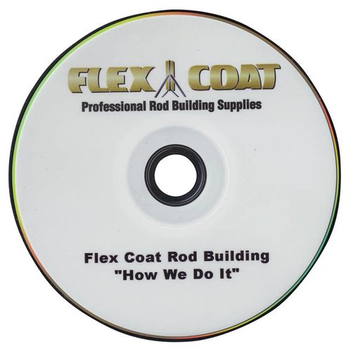 FLEX COAT DVD-How We Do It Rod Building DVD